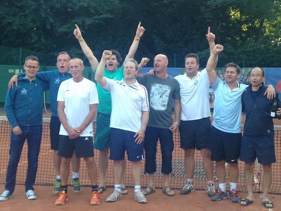 Herenteam 35 kampioen van België 2016!