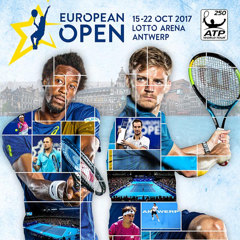 Gratis tickets voor onze jeugd > European Open ATP-tennistornooi in Lotto Arena – 18/10