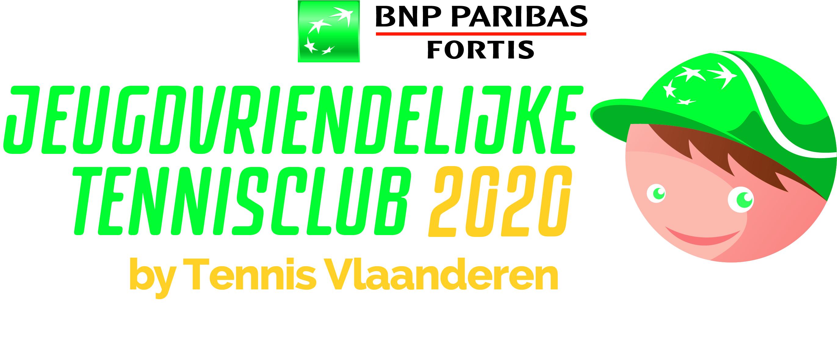 Opnieuw jeugdvriendelijke tennisclub!
